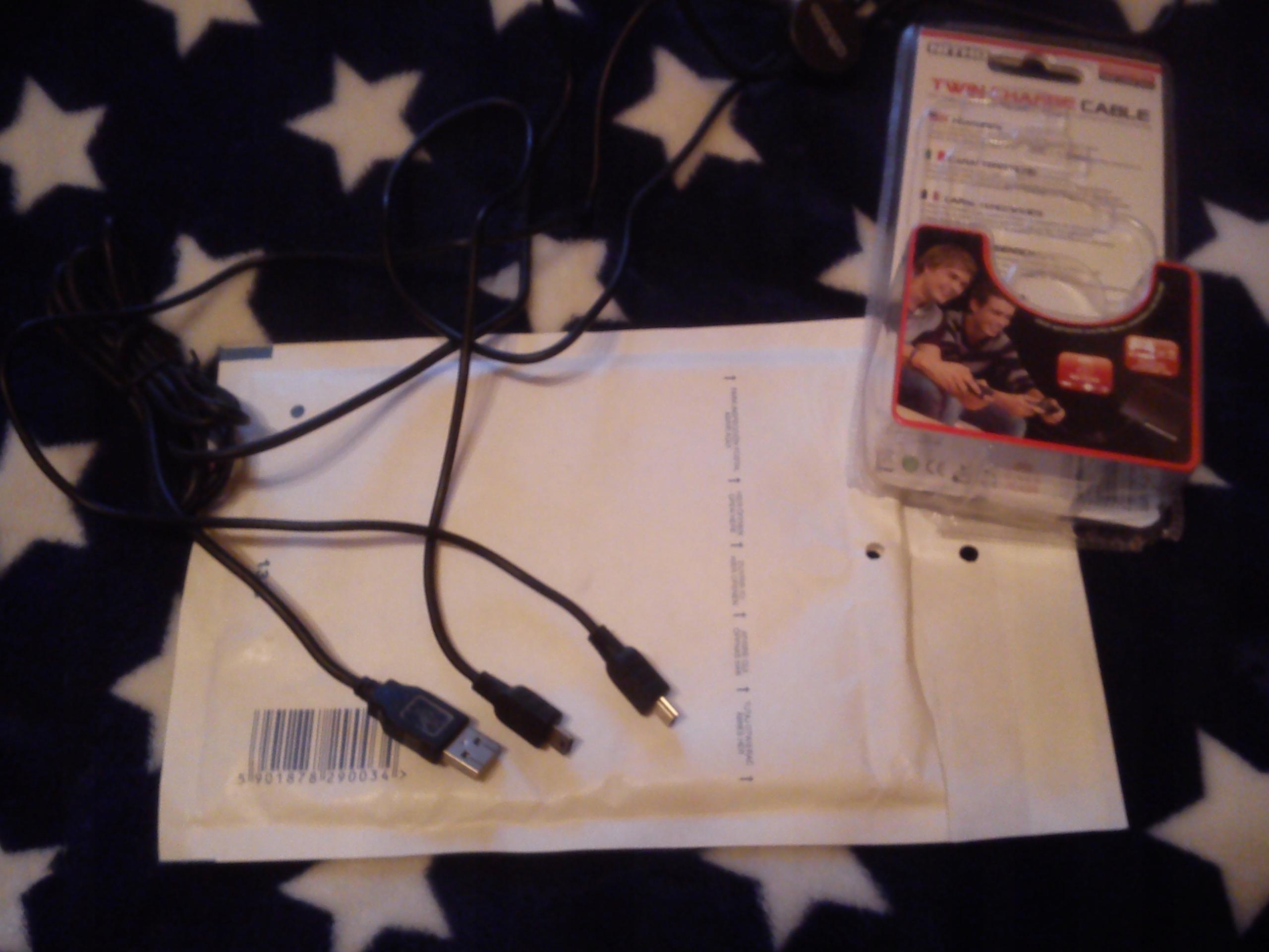 Nitho kabel do ładowania 2 padów naraz do Ps 3