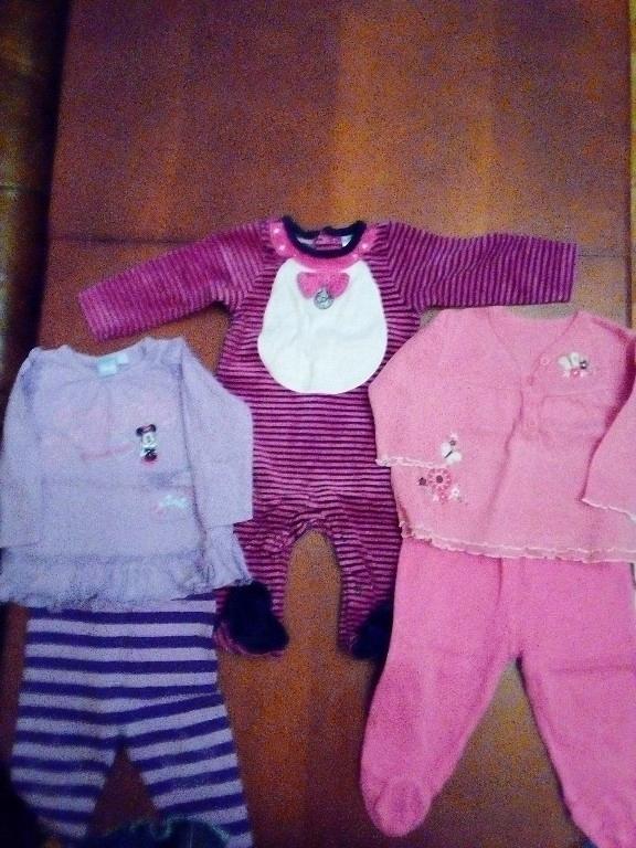 Zestaw dla dziewczynki 3-6 miesięcy