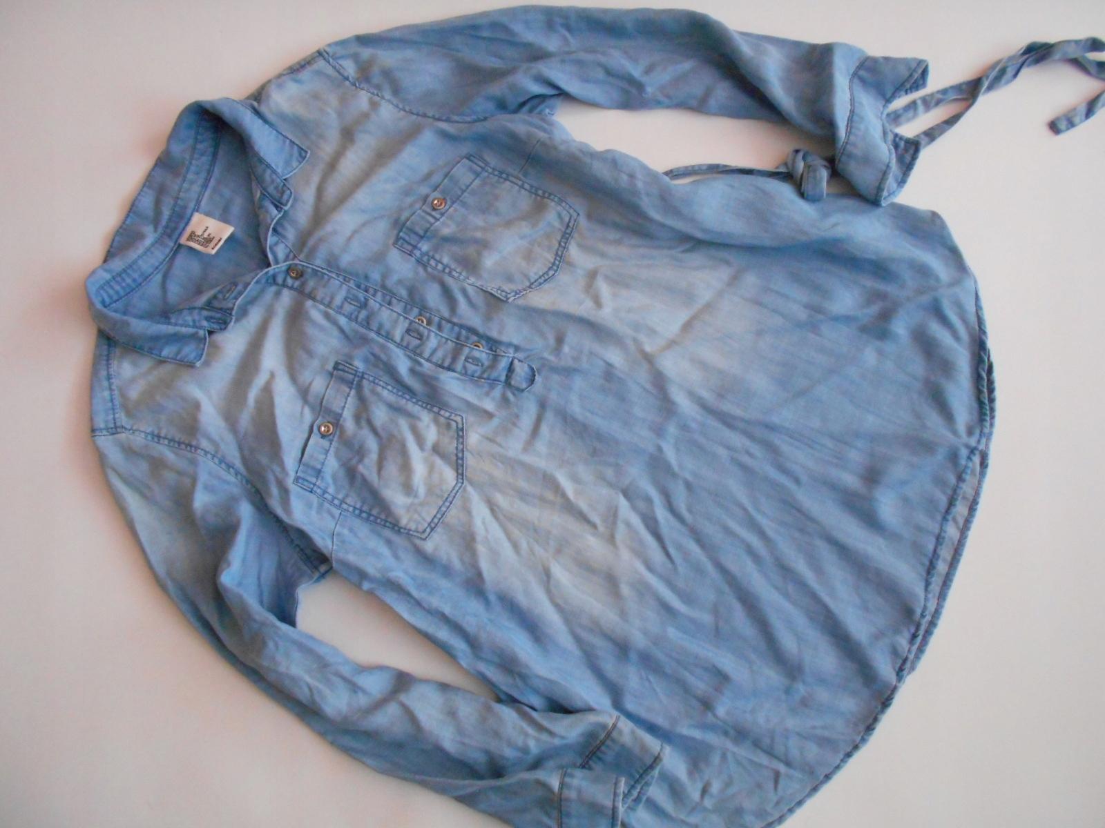 H&M MAMA tunika ciążowa JEANSOWA jeans M