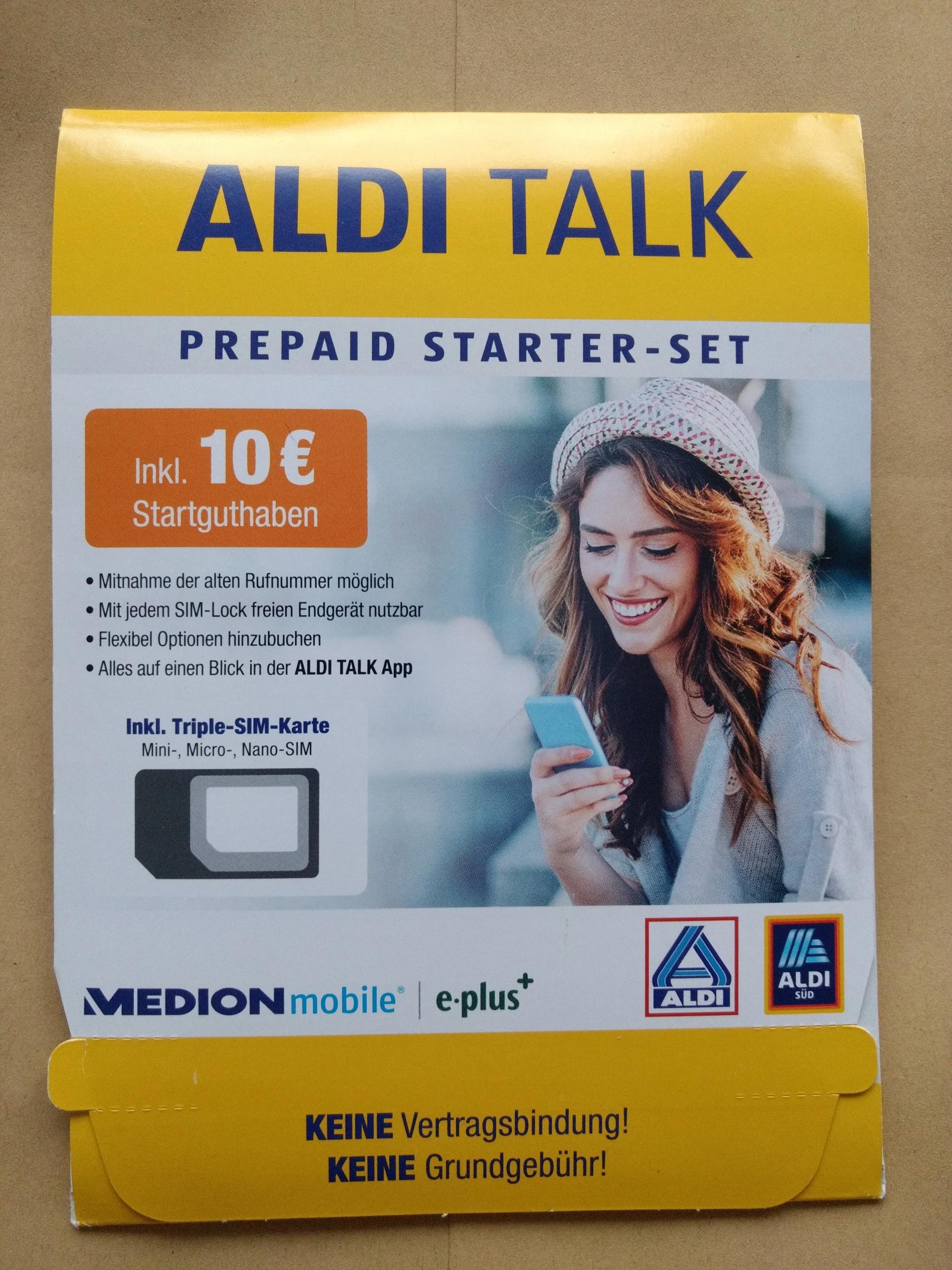 Micro Sim Karte Aldi.Aldi Talk Starter Sim Niemiecka Karta 7970963205 Oficjalne