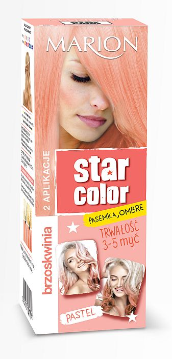 MARION Star Color Pastel 2x35 ml BRZOSKWINIA