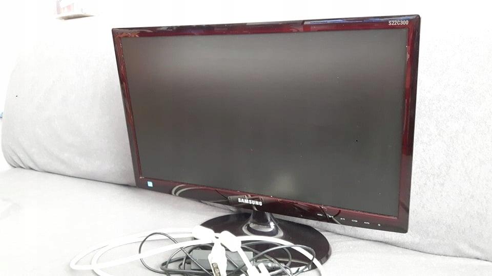 Monitor Samsung S22C300 100% sprawny Kraków
