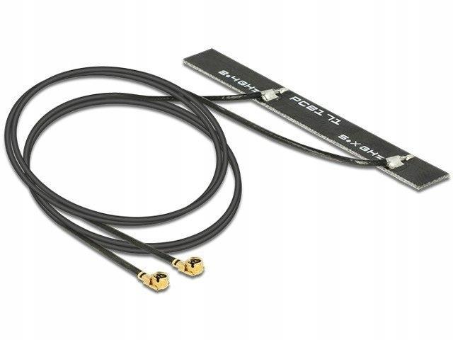 Antena 5 dBi WLAN 802.11 ac/a/h/b/g/n 2x MHF podwó