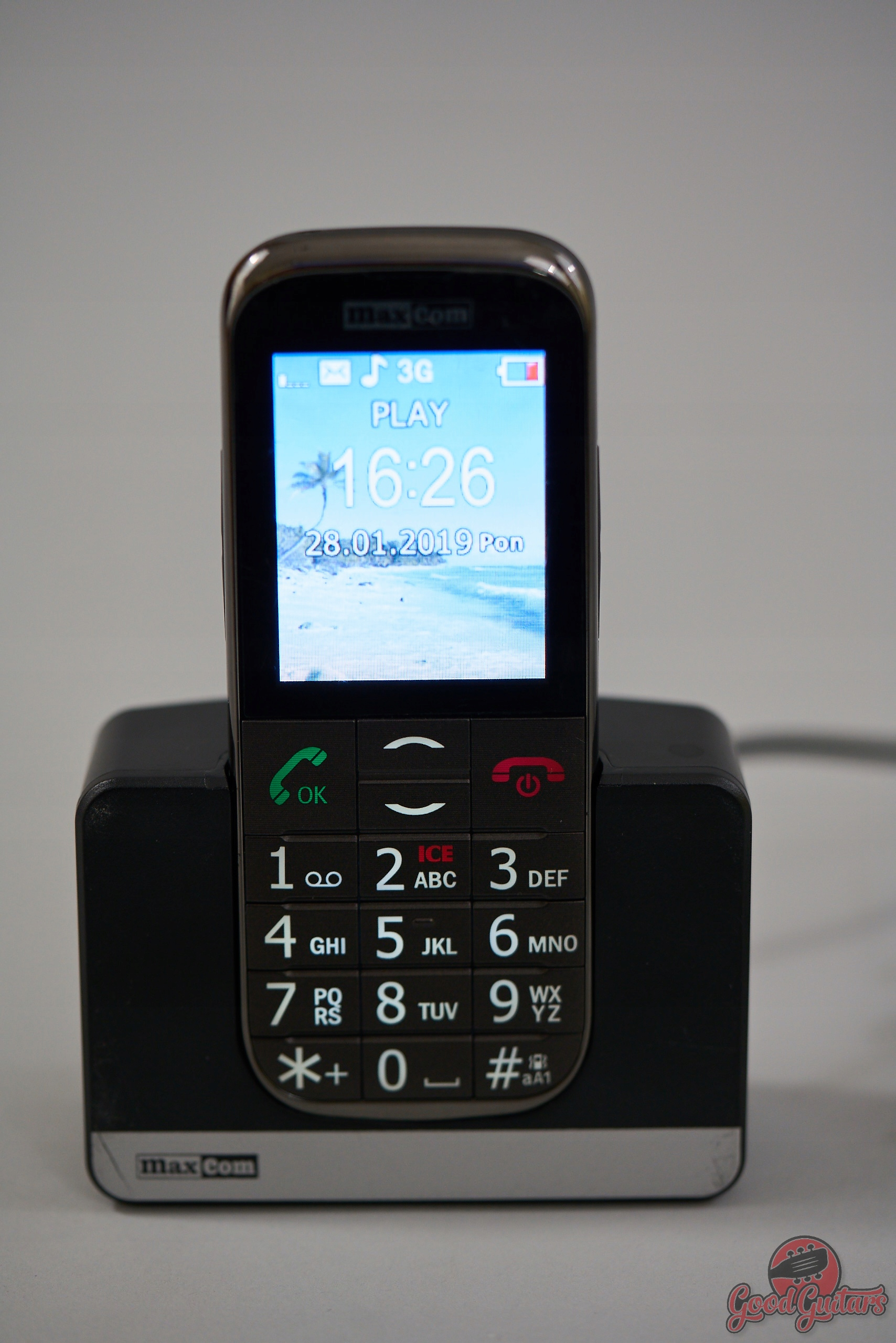 MAXCOM MM 721 BB Telefon gsm 3G Stacjonarny komórk