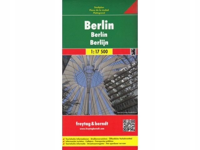 Freytag Berndt Berlin 1:17 500 plan miasta