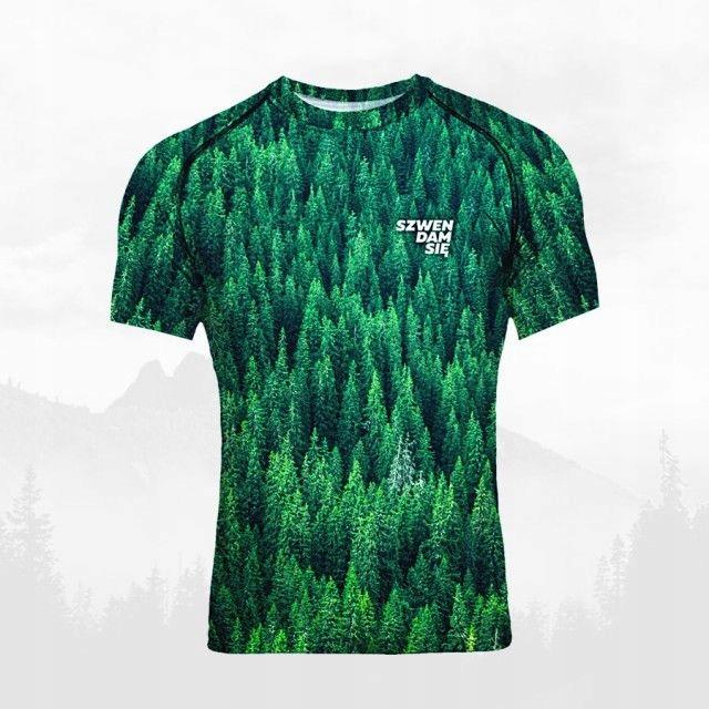 Koszulka termoaktywna męska - LAS obcisła - L