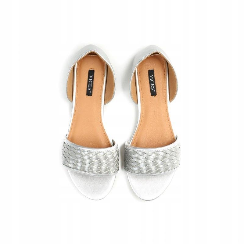Sandały VICES srebrne LINE 41
