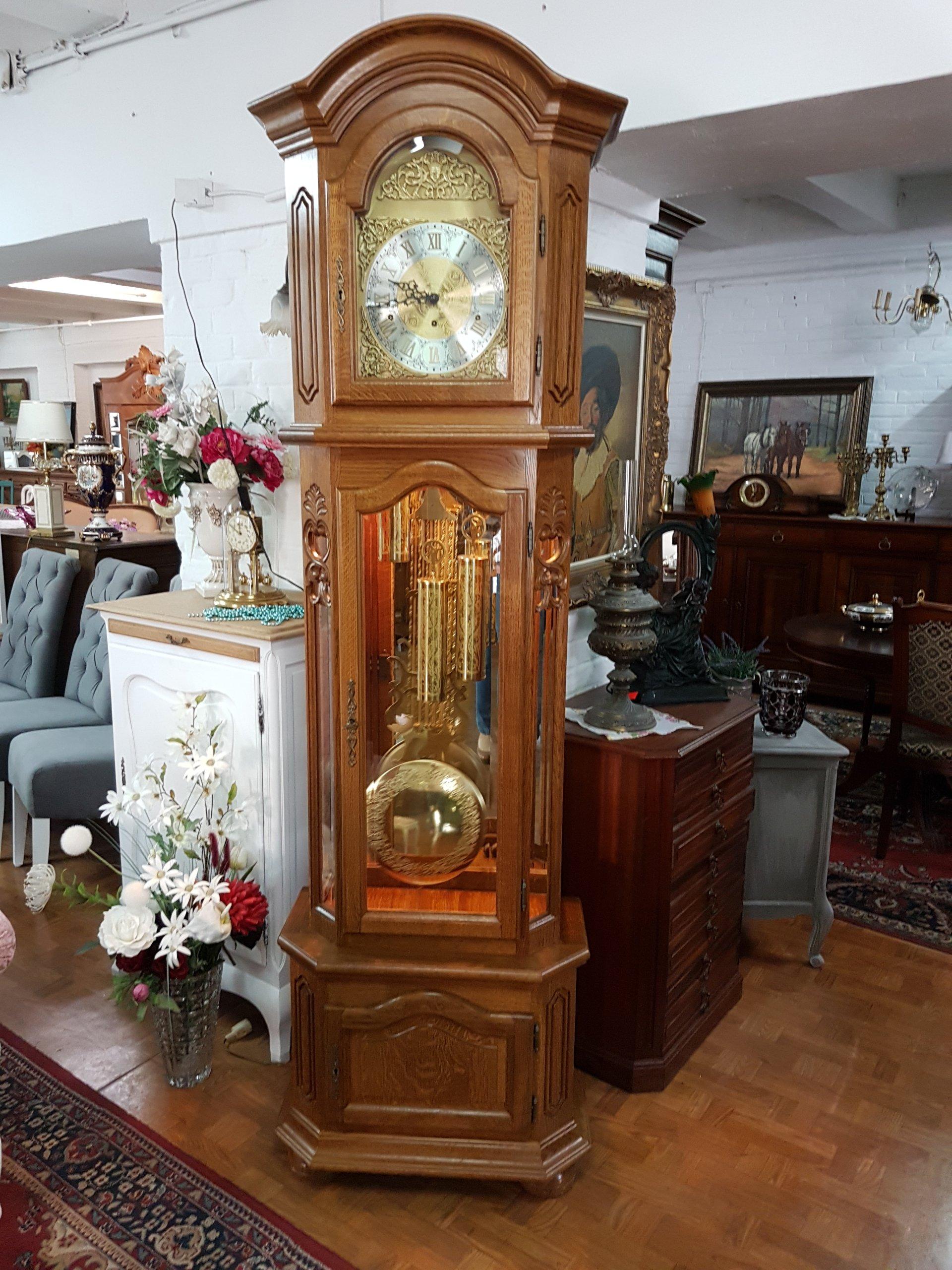 Zegar Stojący żyłkowy Kwadransiak Cudo 270318 7323350860