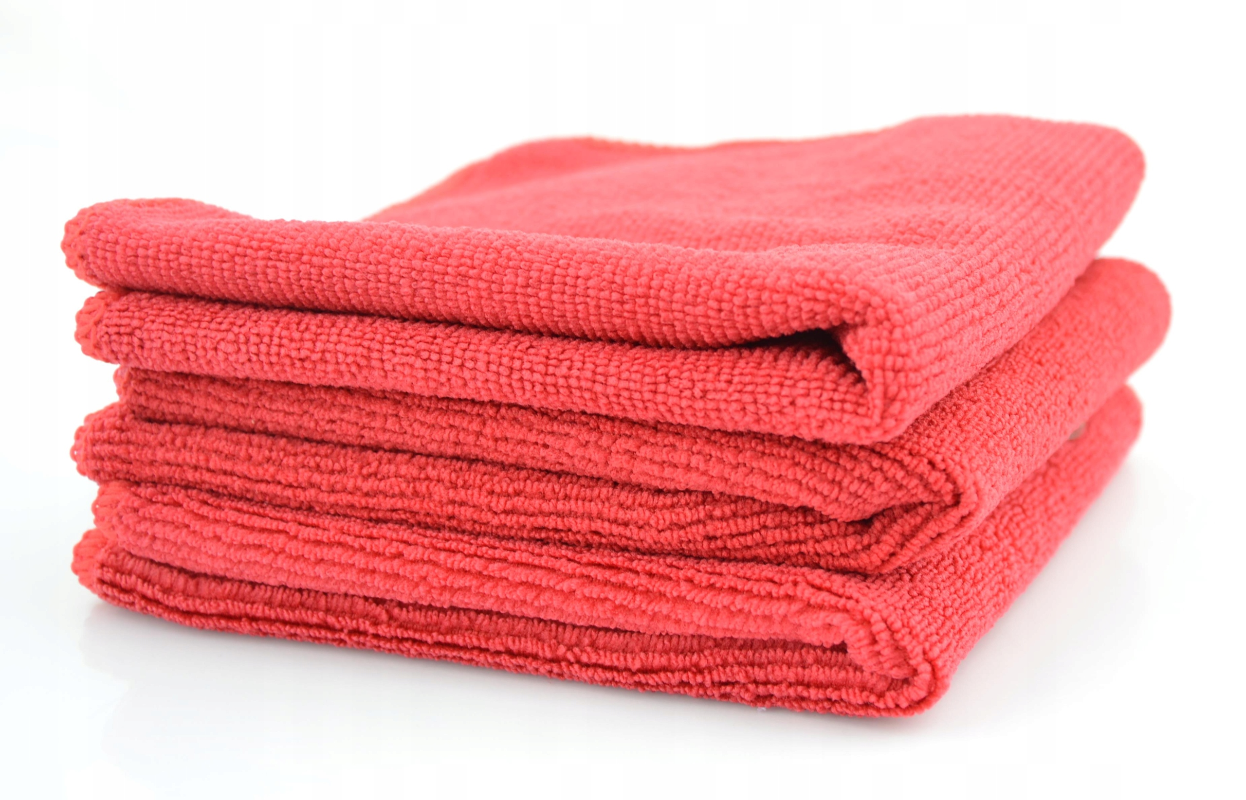 MIKROFIBRA 30x30cm, 320 g/m2, czerwona GRUBA