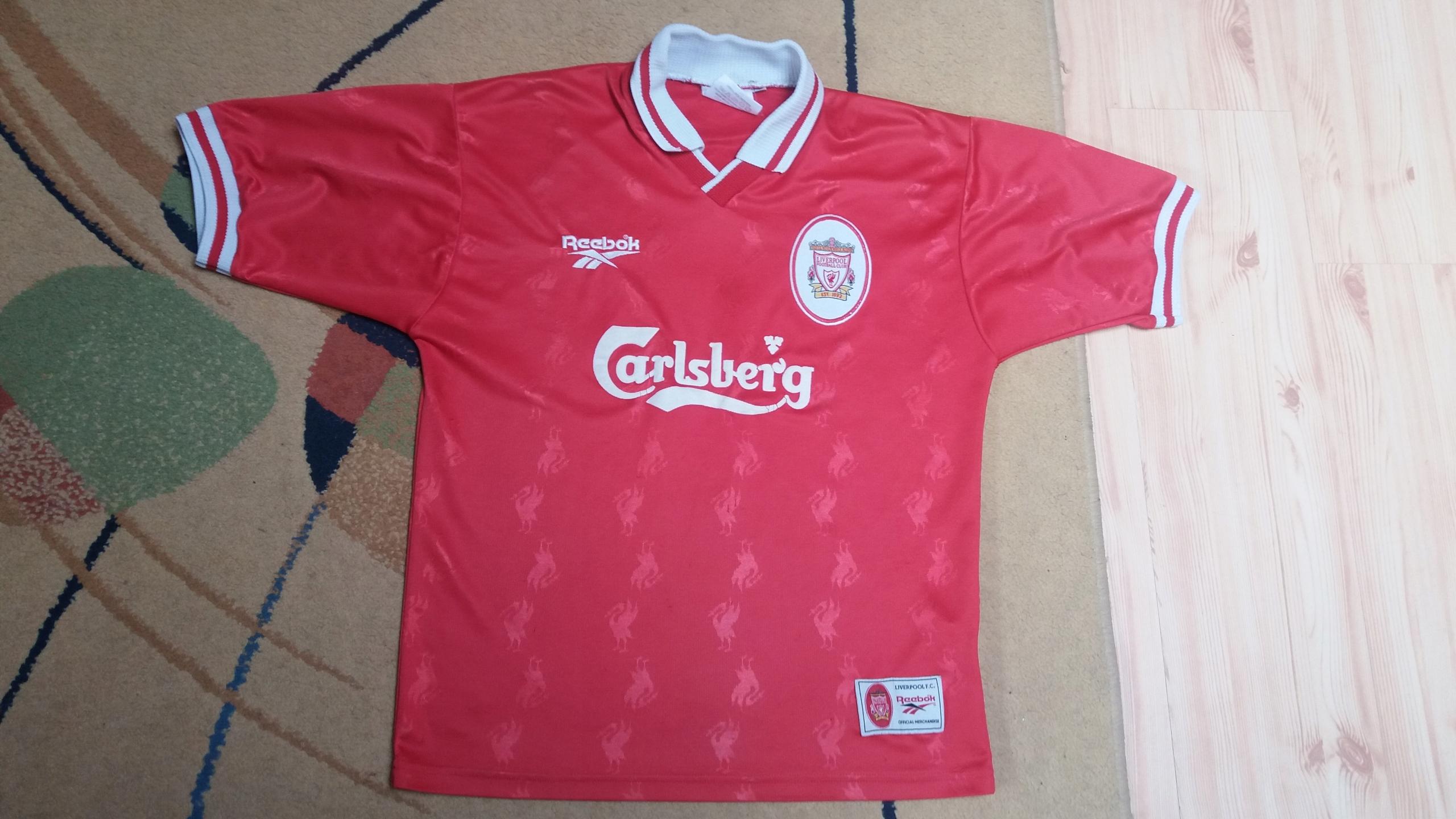 LIVERPOOL FC Reebok 1996 Oldschool S M