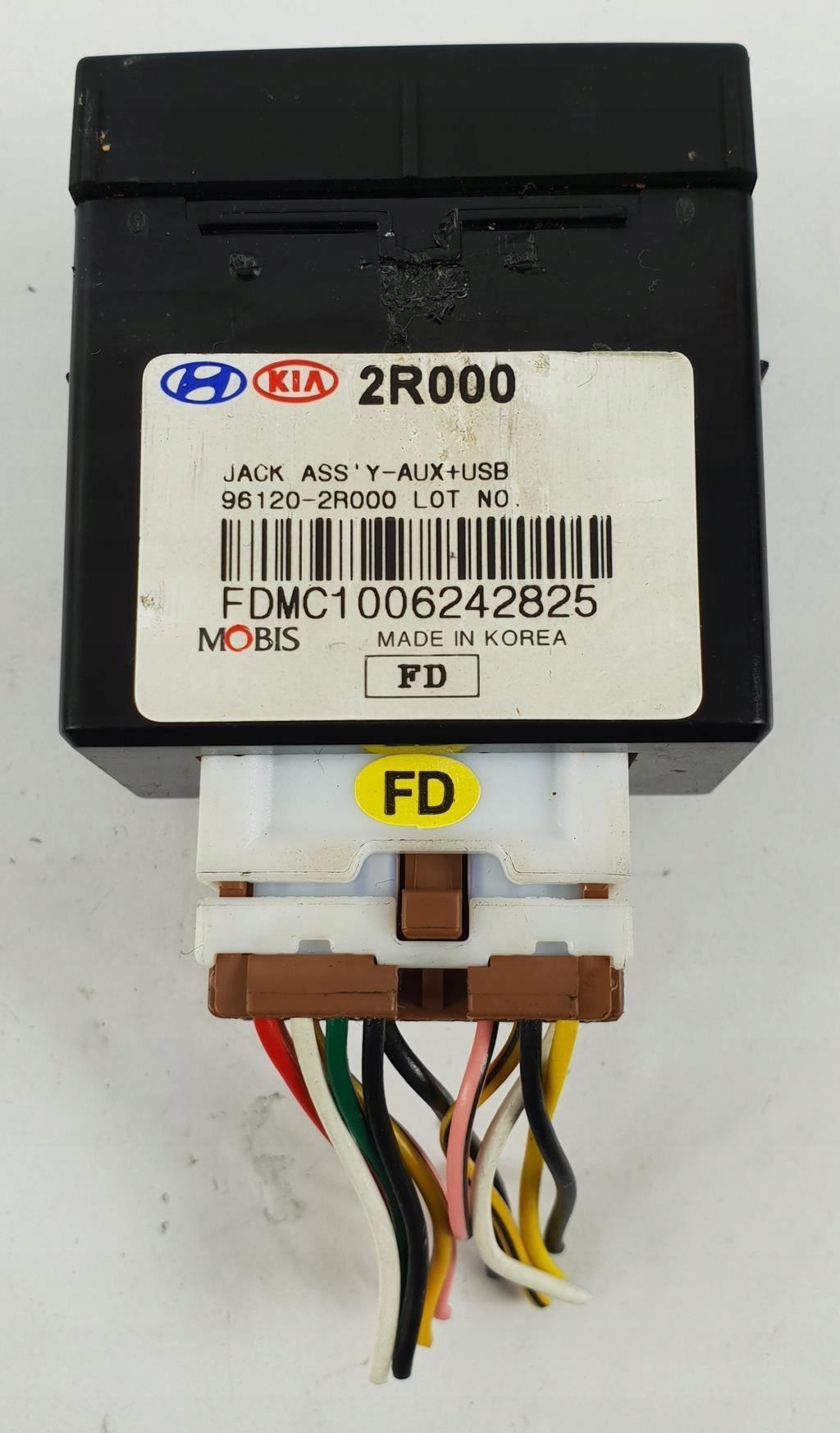 GNIAZDO USB AUX IPOD HYUNDAI i30 CEED 961202R000 - 7881489916