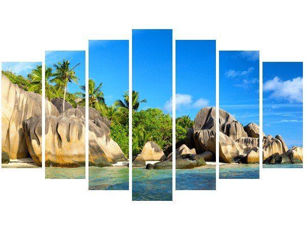 Obraz druk Wyspa na Seszelach