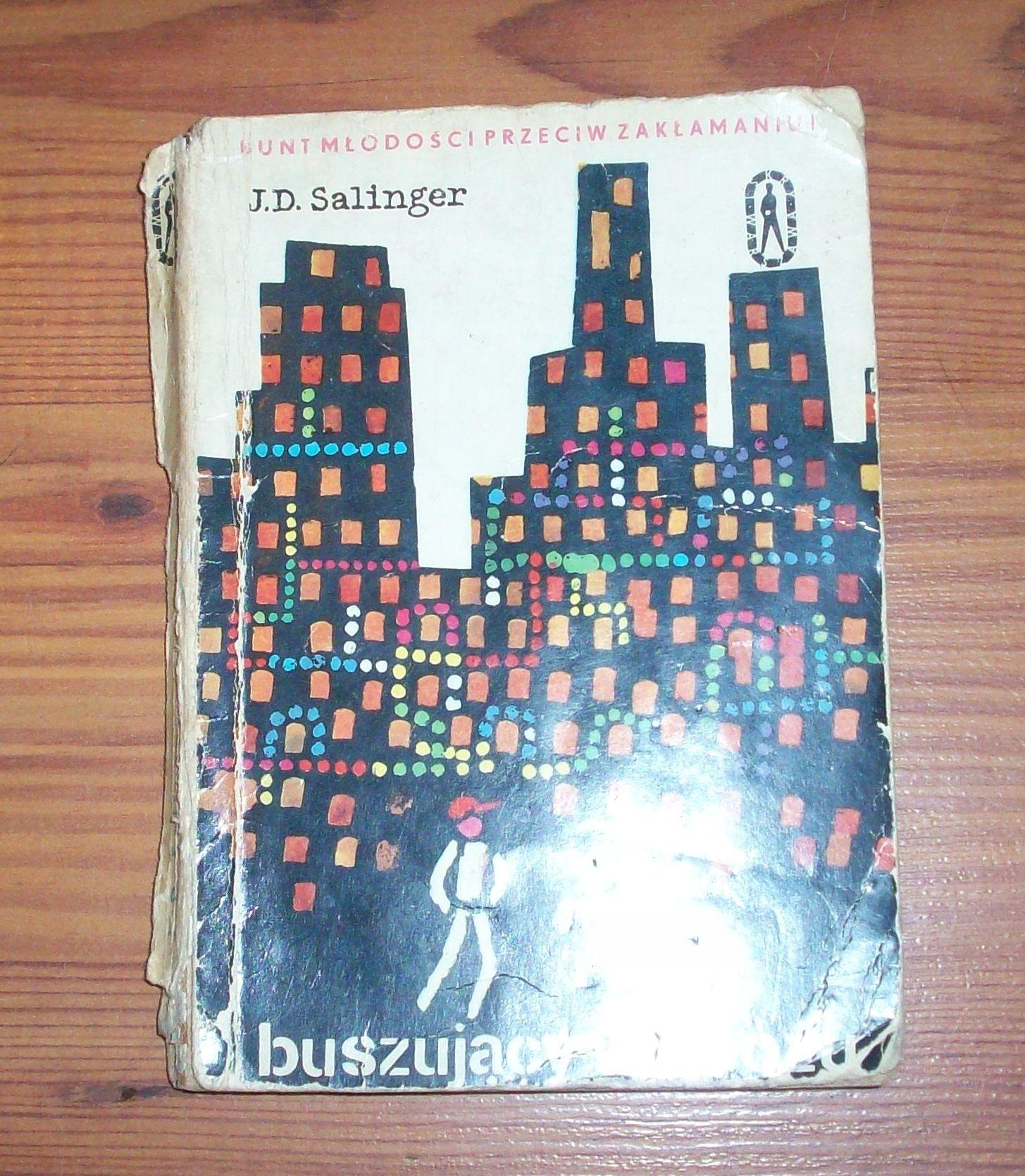 Książka J.D.Salinger Buszujący w zbożu