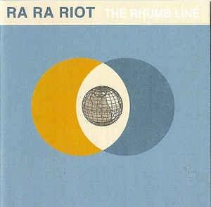 RA RA RIOT CD THE RHUMB LINES