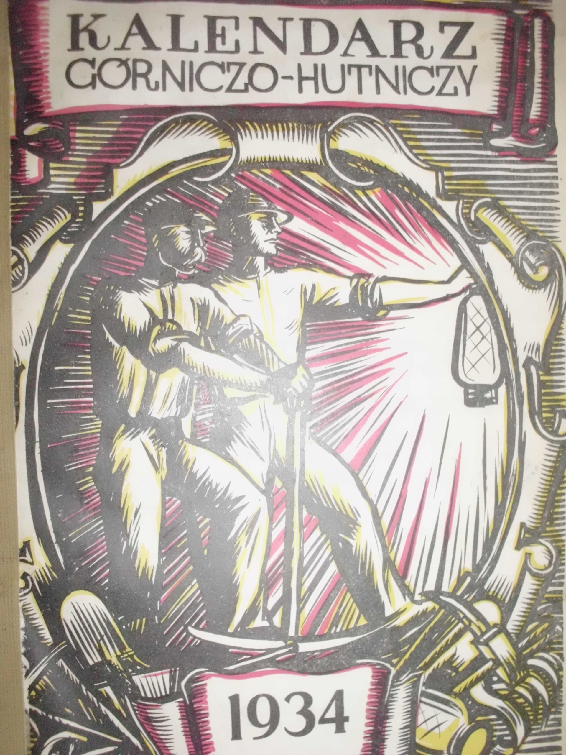 Kalendarz Górniczo-Hutniczy 1934