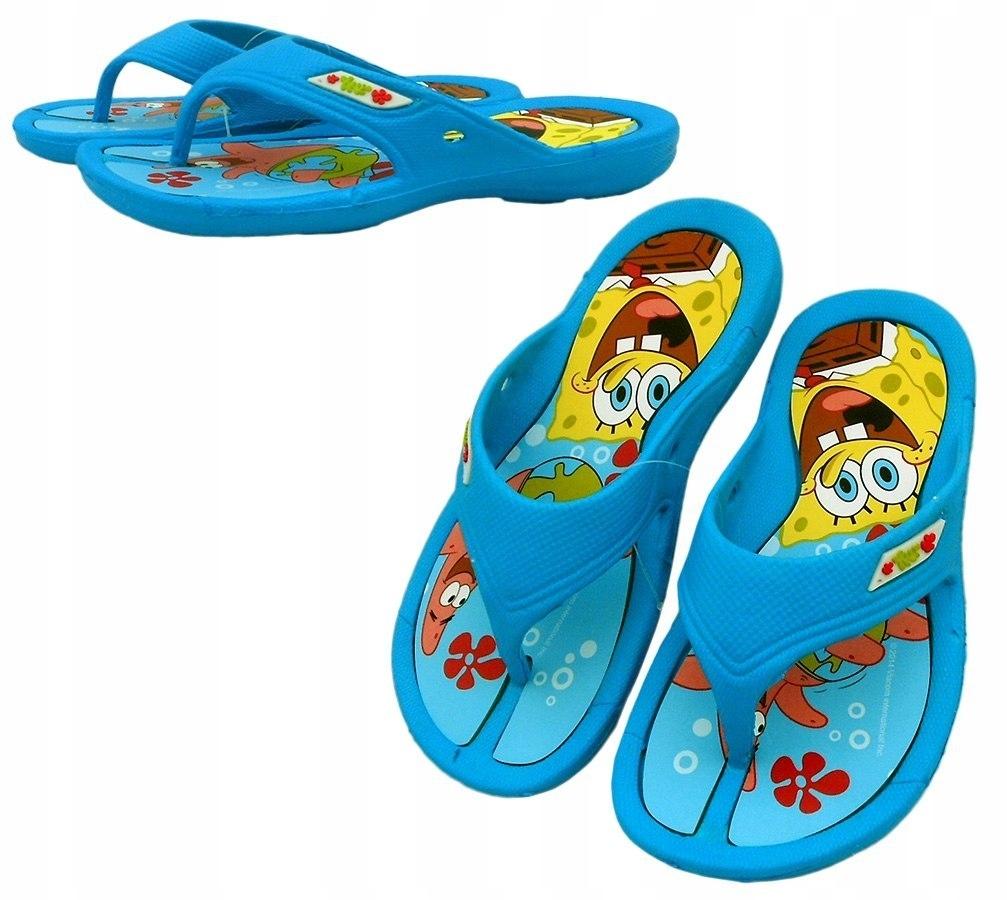 Klapki Japonki Sponge Bob : Rozmiar: - 34/35
