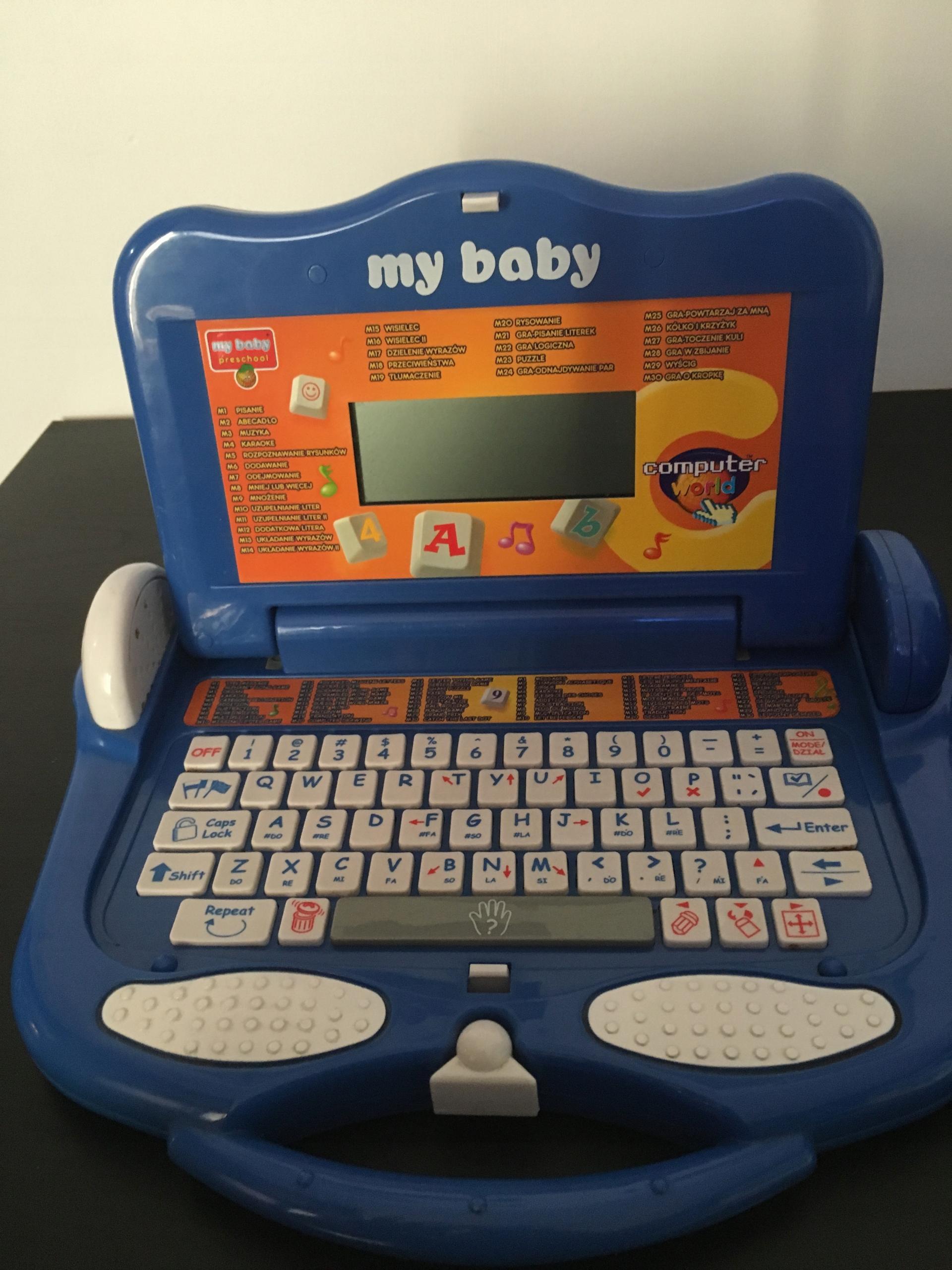LAPTOP EDUKACYJNY 3 JĘZYCZNY MY BABY