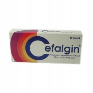 CEFALGIN, 10 tabletek
