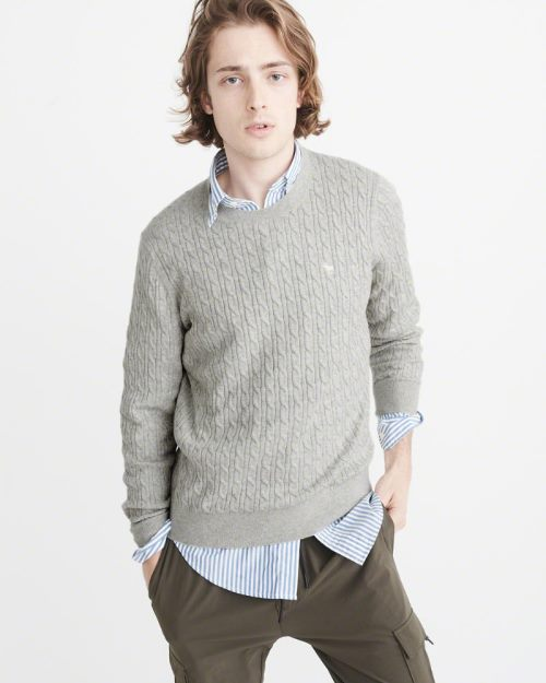 Abercrombie & Fitch, nowy,oryginalny sweter, L