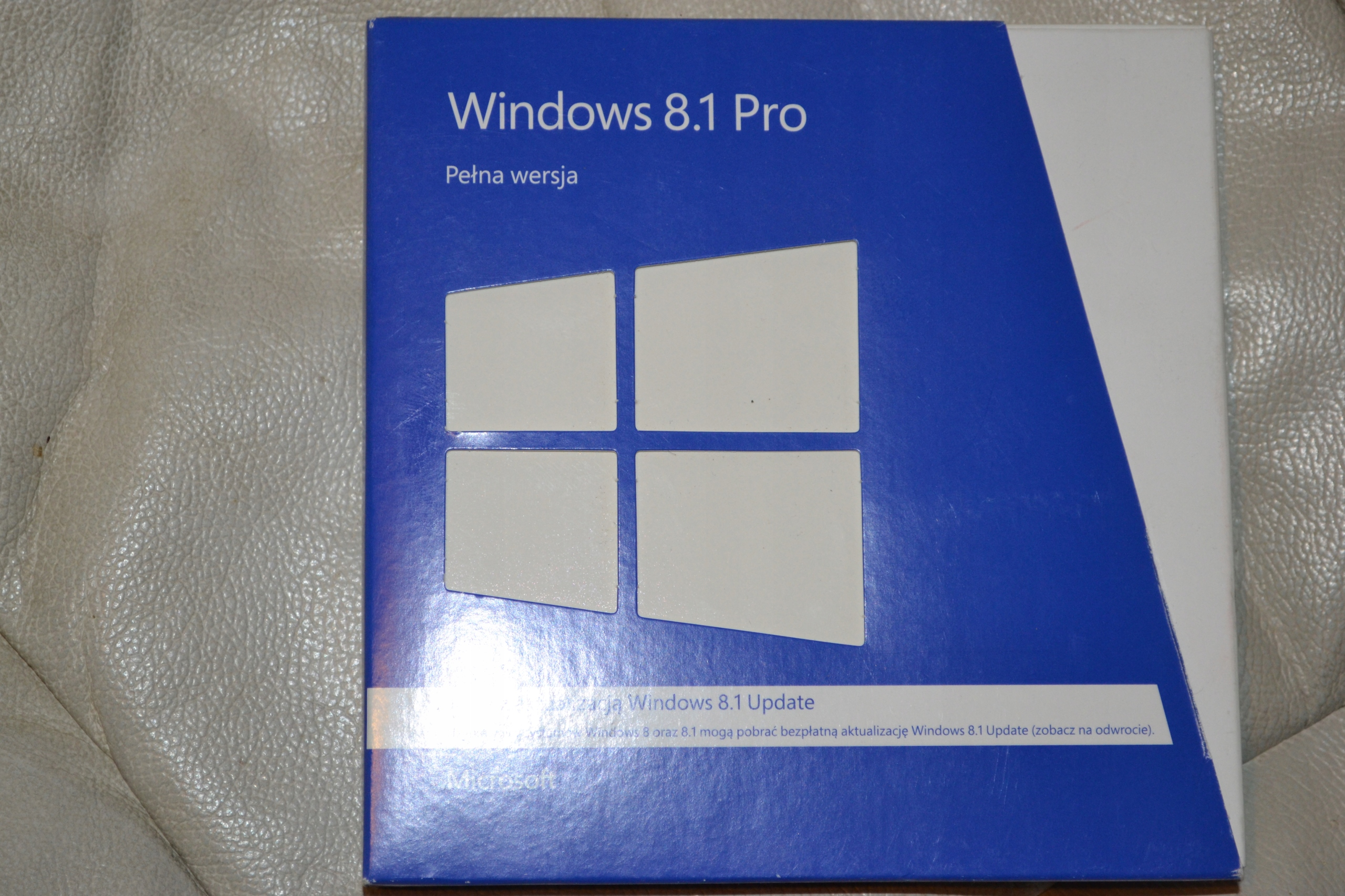 Ms Windows 8.1 Pro Pena wersja Polska BOX