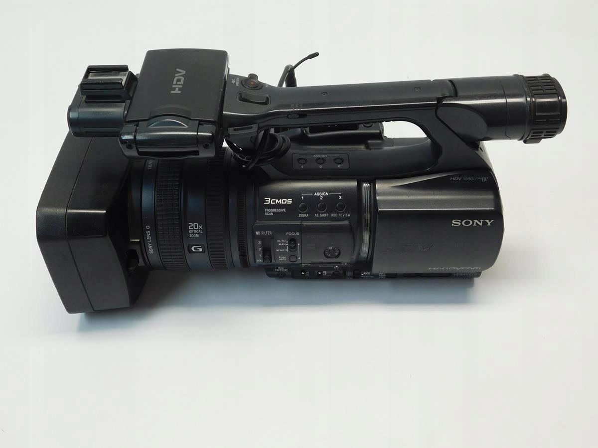 Kamera cyfrowa Sony HDR-FX1000E