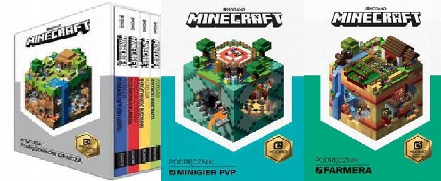 Minecraft Kolekcja podręczników pakiet 6 książek