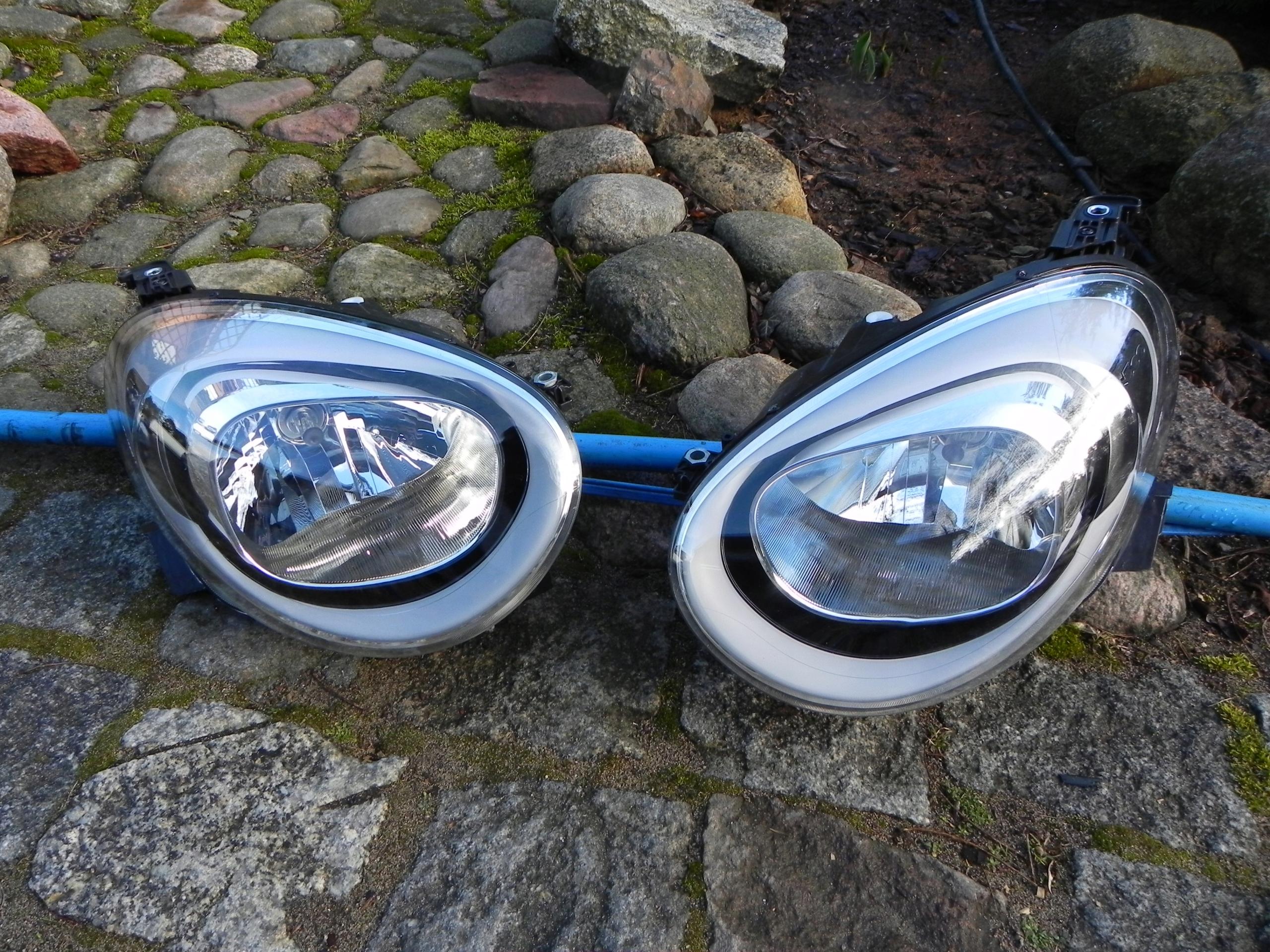 reflektor lampa fiat 500X komplet eu
