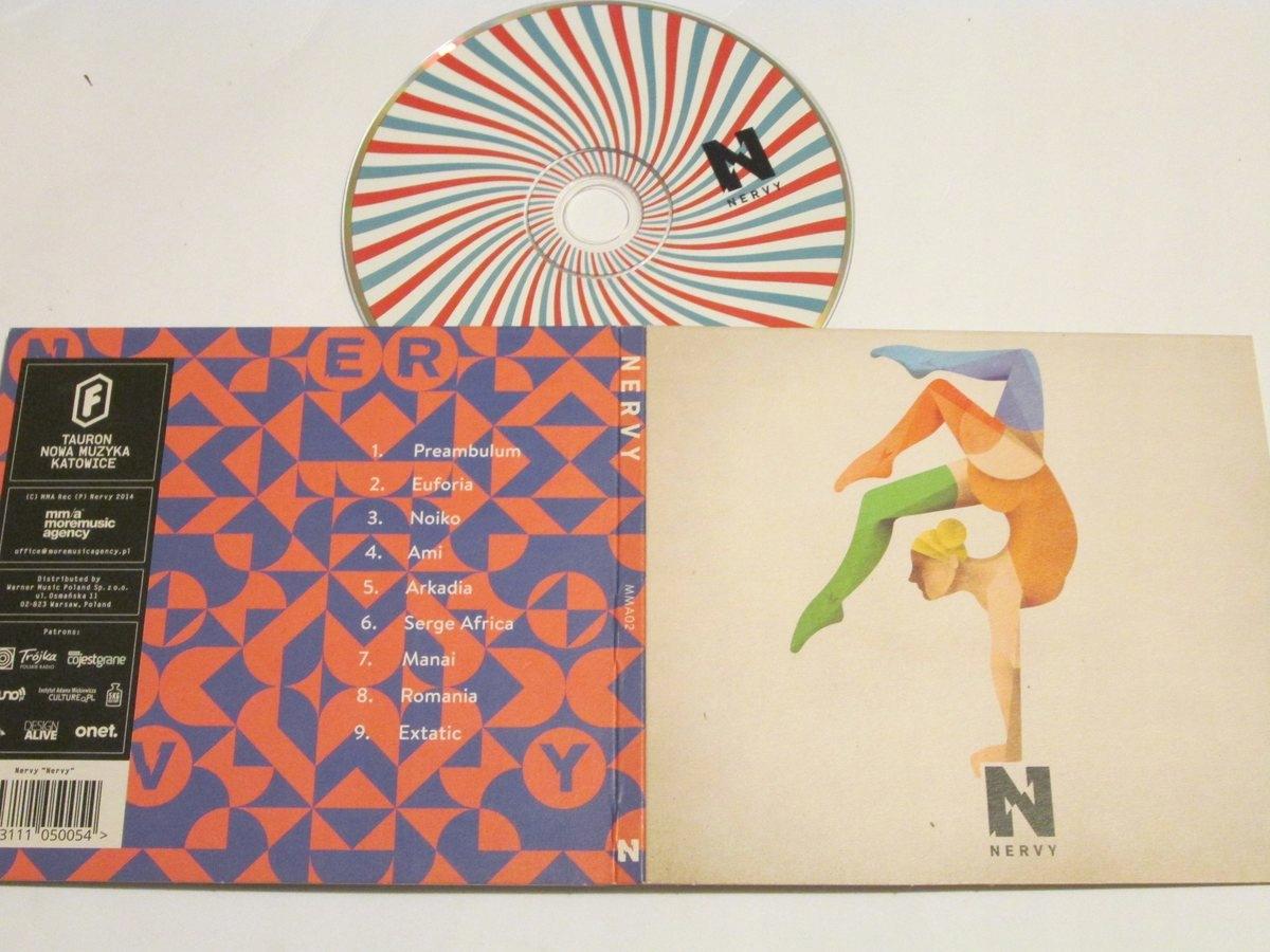 NERVY-NERVY CD 2014 SKALPEL OSZIBARACK