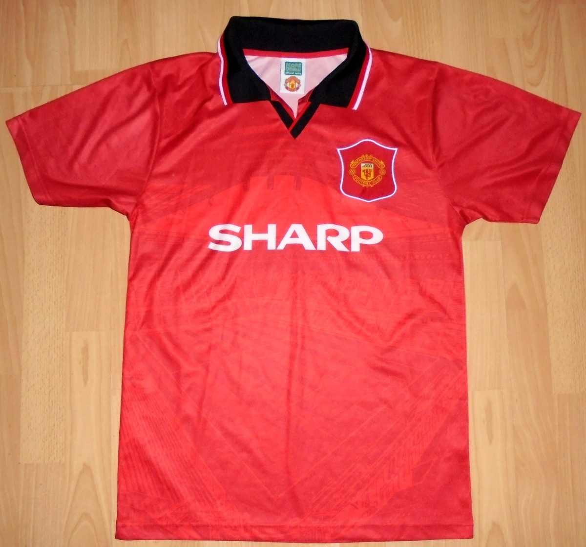 Koszulka Manchester United Sharp M Retro 1994/95