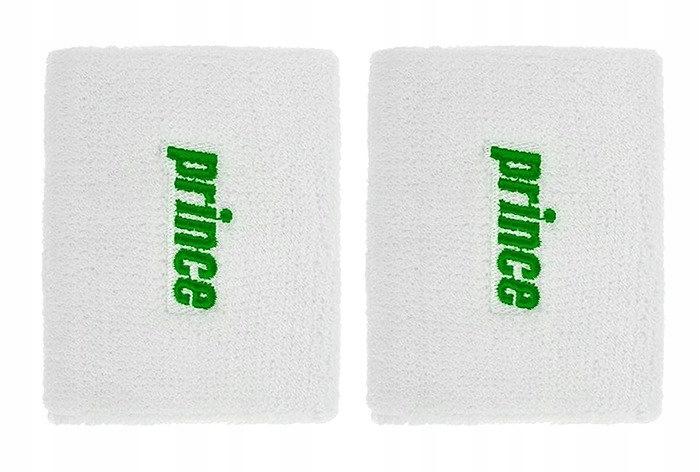 Frotka na rękę Prince 2szt. biało-zielona