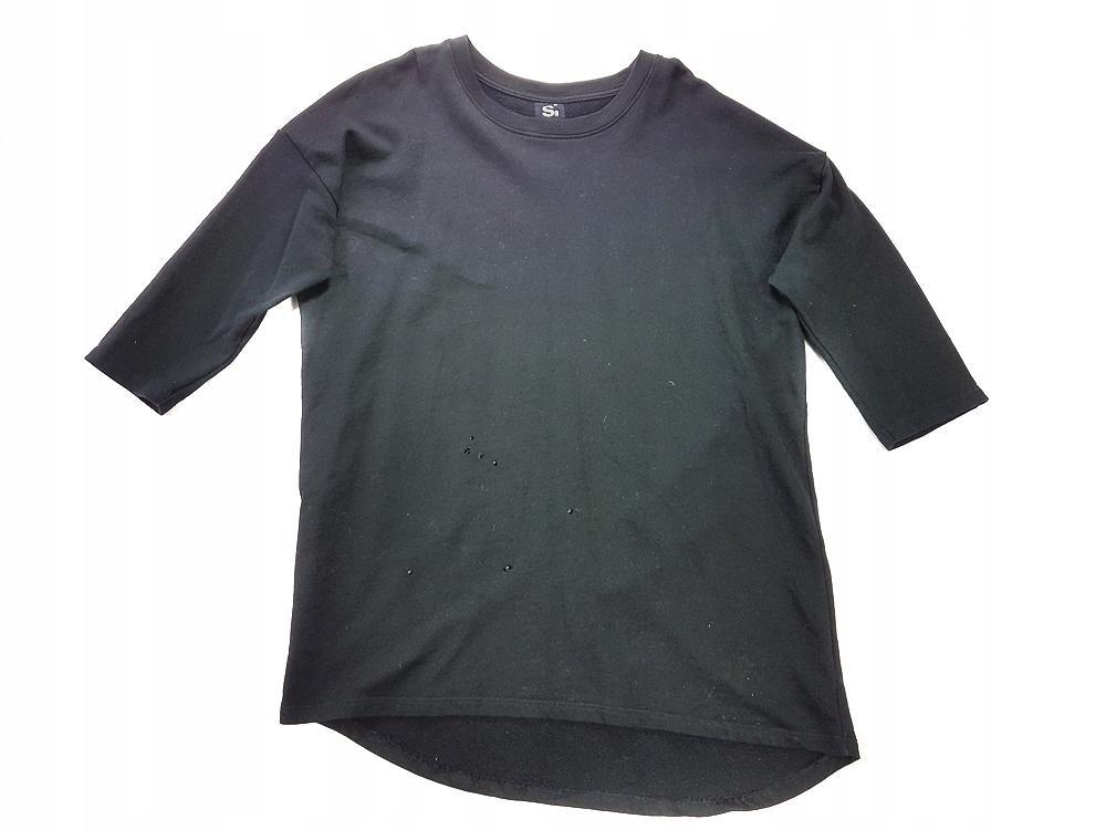 6387 SINSAY czarna BLUZA basic 40 L
