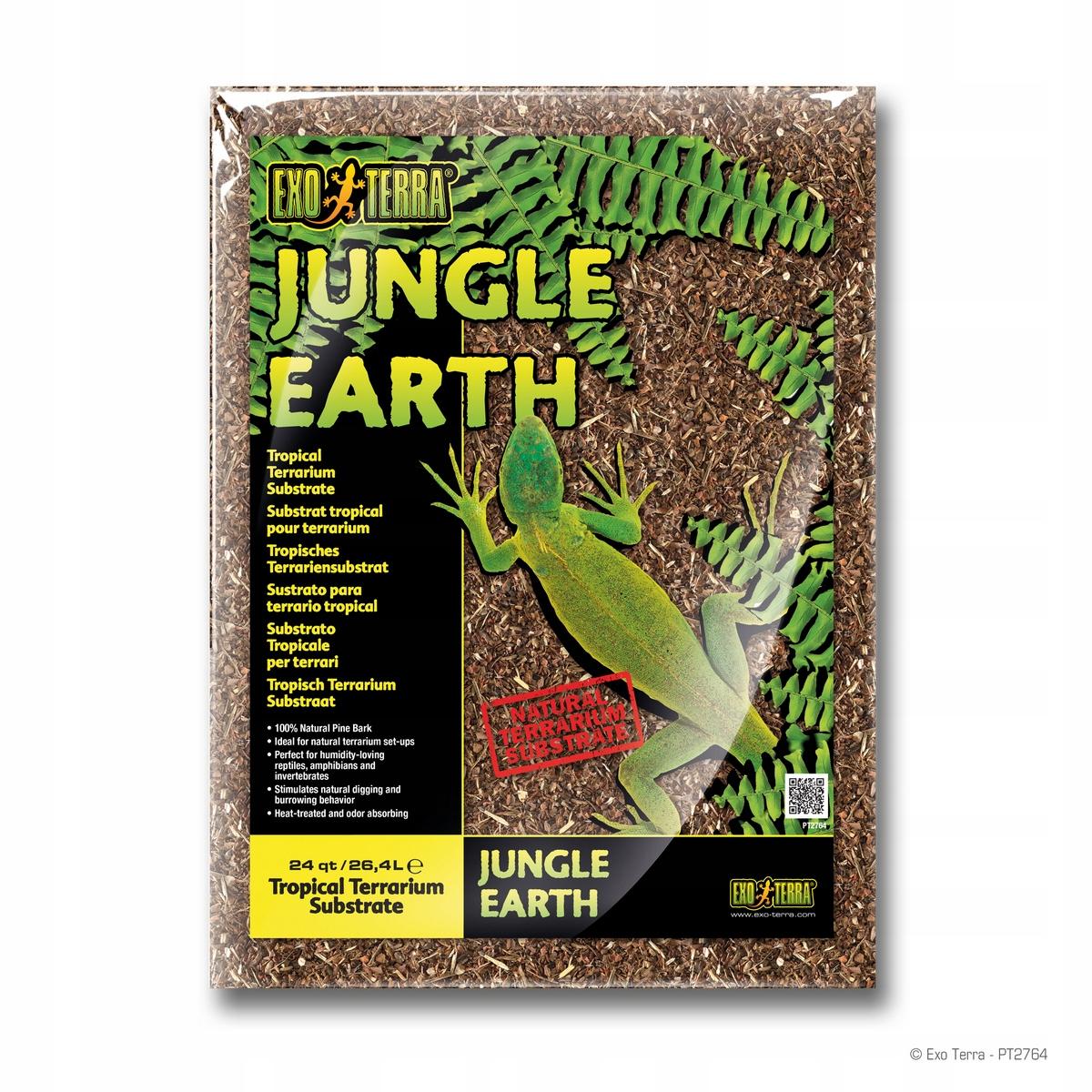 Exo Terra Jungle Earth - Ziemia 26,4 L