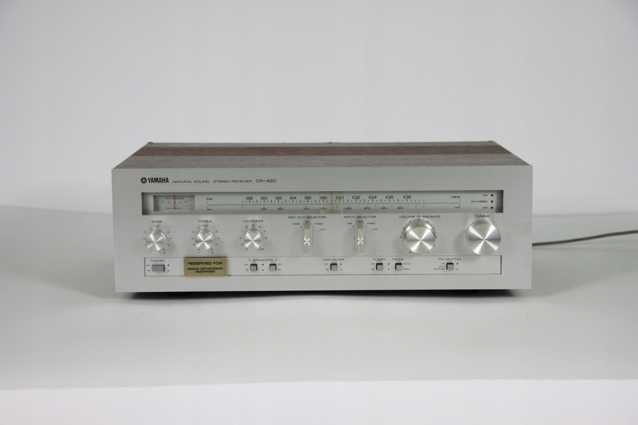 YAMAHA CR-420 AMPLITUNER VINTAGE