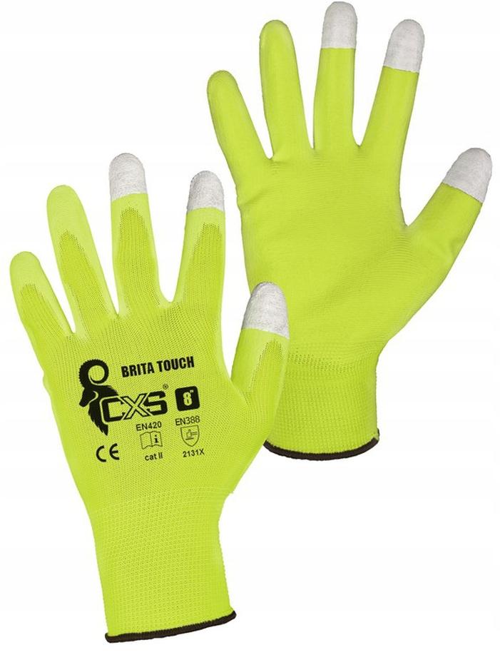 Rękawice BRITA TOUCH do ekranów dotykowych x60 r10