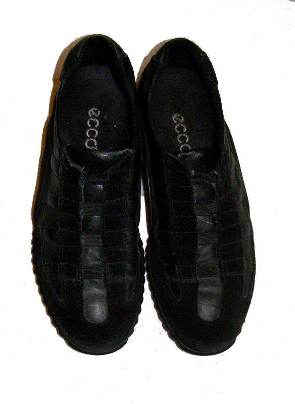 ECCO wygodne CZARNE buty SKORA 38