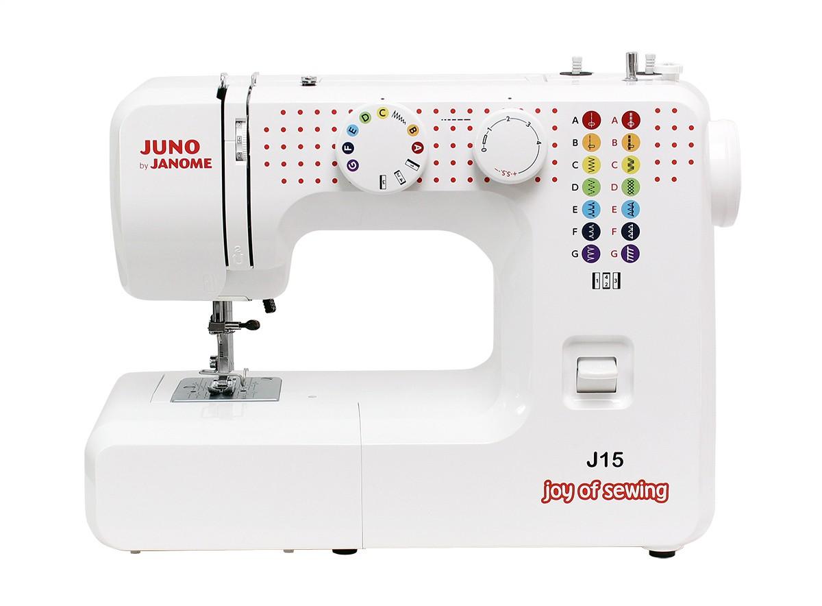 JANOME Maszyna do szycia JUNO J15
