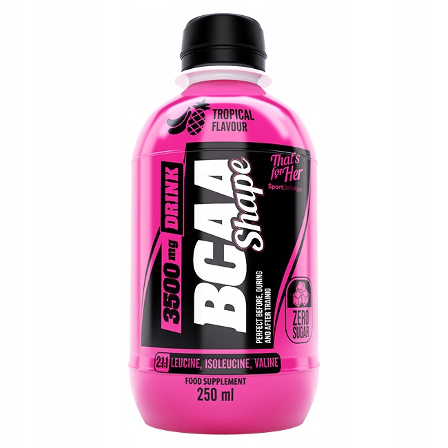 SPORT DEFINITION BCAA SHAPE DRINK 250ML AMINO