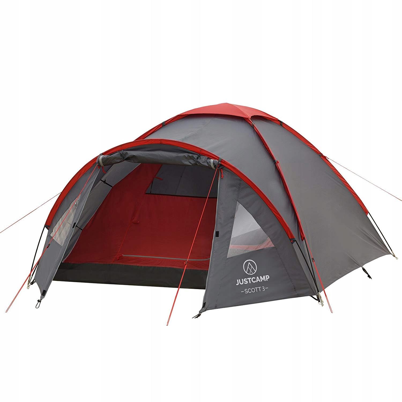 Namiot kempingowy JUSTCAMP Scott 3 namiot 3 osob