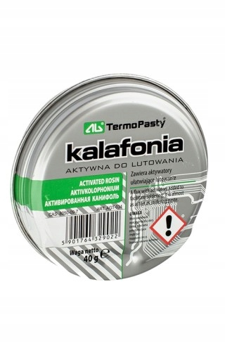 KALAFONIA AKTYWNA DO LUTOWANIA 40G AG TERMOPASTY