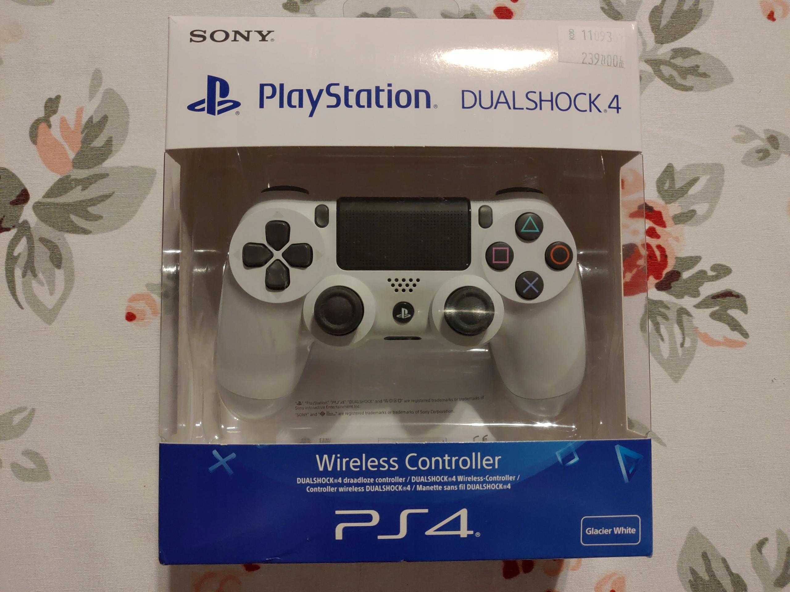 Pad Dualshock 4 Glacier White - PS4