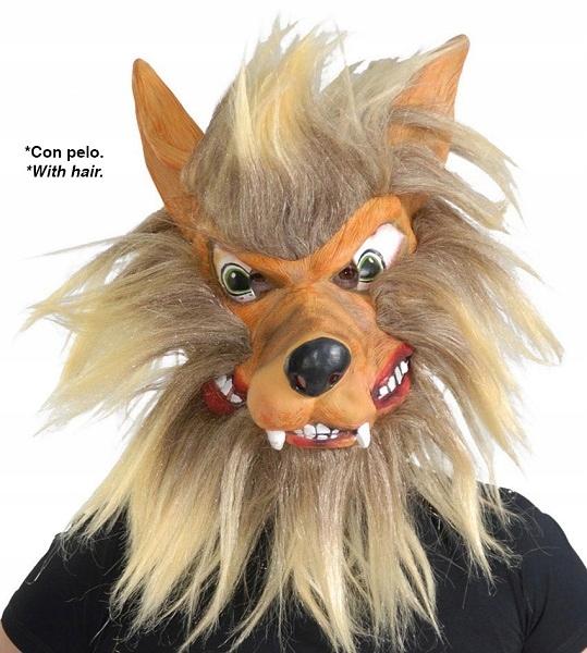 Maska wilkołaka Halloween [919/2724]