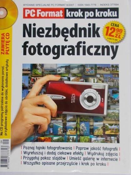 Niezbędnik fotograficzny płyta CD