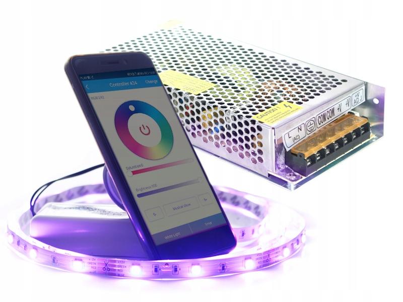 3m Taśma Bezprzewodowe Oświetlenie Led Rgb Wifi 7445179602