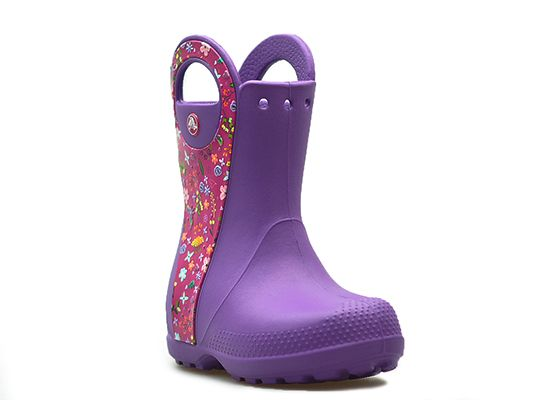Crocs Kalosze HANDLE IT GRAPHIC BOOT 204839_28-29