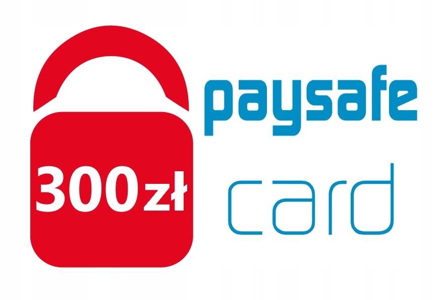 PaySafeCard 300 zł PSC Kod PIN Karta (3 x 100 zł)