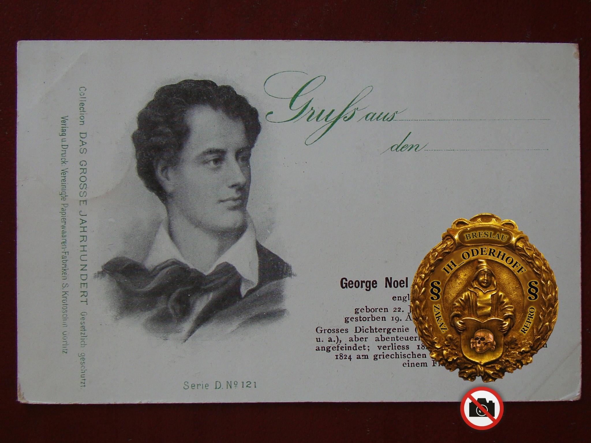 Anglia Lord Byron 1898.r.Stan Lux C5525