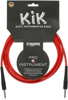 Kabel gitarowy instrumentalny 2x Jack Klotz 6M