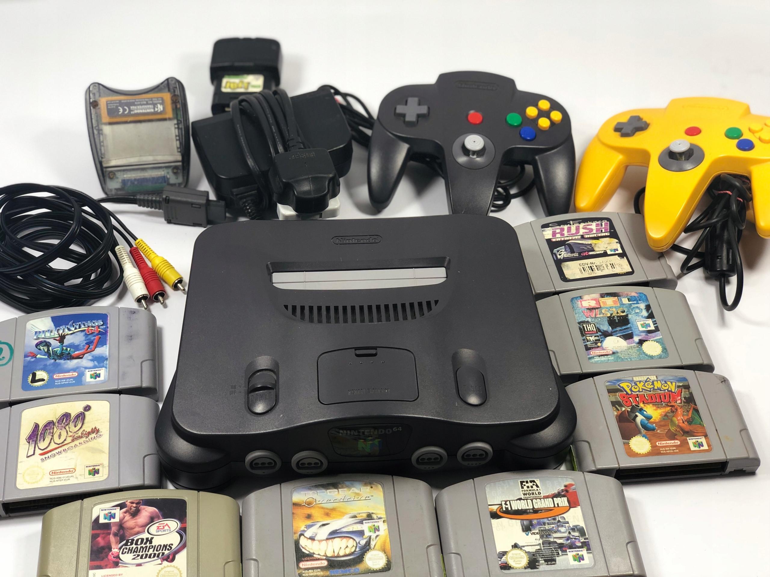 Nintendo 64 8 Gier Transfer Pak 2 Pady