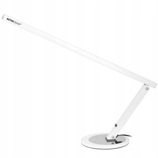 LAMPA BEZCIENIOWA SLIM NA BIURKO DO MANICURE 20W