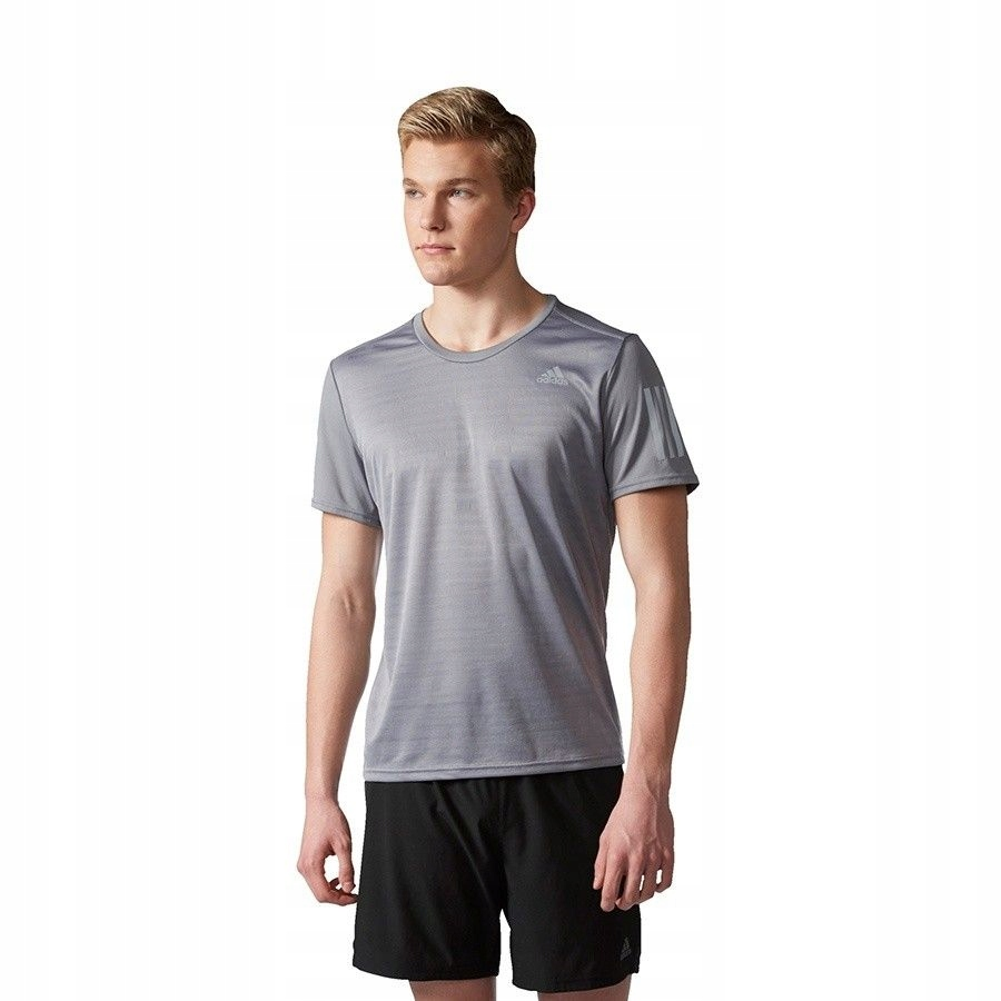 Koszulka adidas RS SS Tee M BP7421 - SZARY; XL
